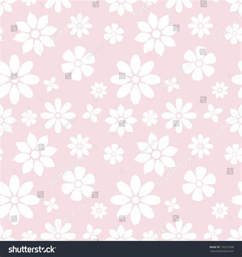 pastel simple pattern seamless pattern of simple flowers pastel pink background