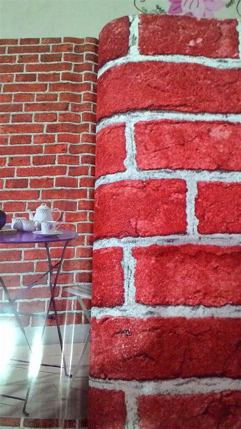 harga wallpaper motif batu bata jual wallpaper dinding jakarta wallpaper dinding motif