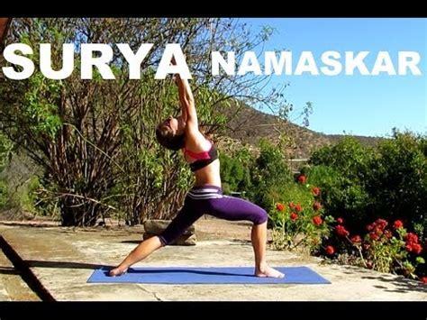 Tutorial Yoga Saludo Al Sol | yoga surya namaskar tutorial saludo al sol all