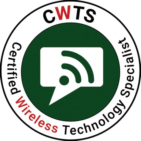 cws 100 certified wireless specialist official study guide books cwts wi fi fundamentals cwnp certified wireless