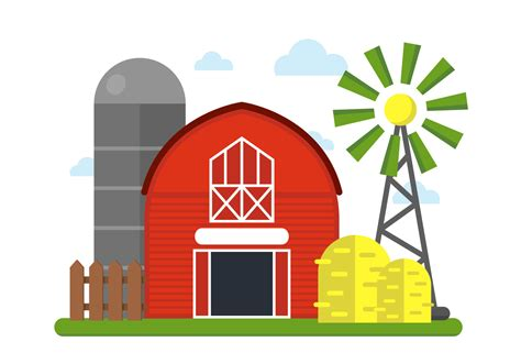 free clipart graphics farm vector illustration free vector stock