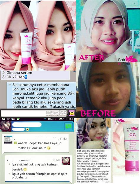 Fair N Pink Serum Review Daily ciri ciri fair n pink asli dan palsu testimoni review