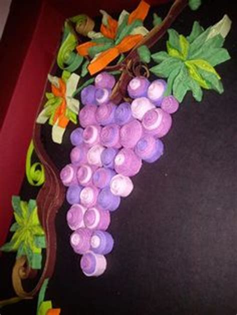 How To Make Paper Grapes - 1000 images about quilling on paper quilling