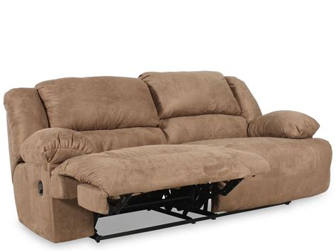 ashley sofa and loveseat ashley mocha microfiber reclining sofa and loveseat