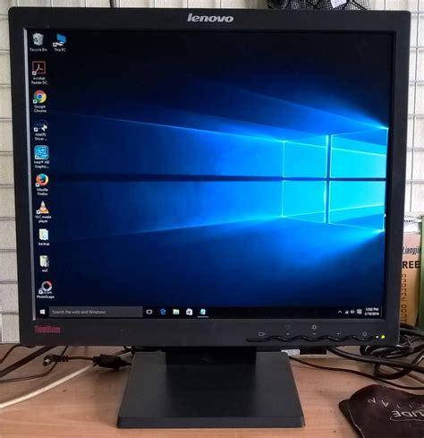 Monitor Lcd Lenovo lenovo 17 inch lcd monitor free c end 2 18 2017 12 15 pm