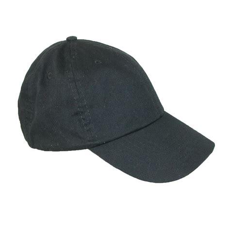 classic cotton basic solid sports baseball cap by dorfman