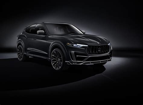 suv maserati black larte design maserati levante tuning kit 01