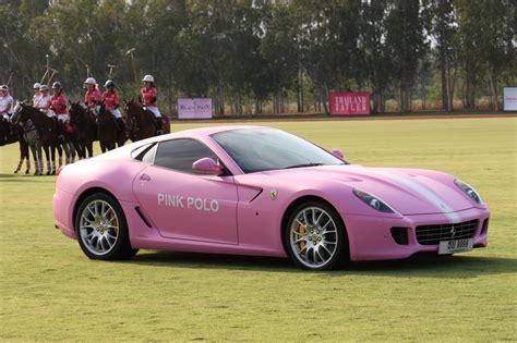 maserati pink pink 599 and maserati gran turismo