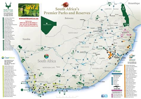 printable maps south africa south african national parks printable map portfolio