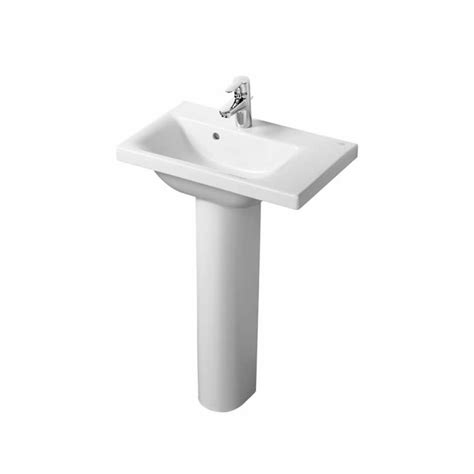 hand basins for bathrooms ideal standard concept space 600mm basin with right hand