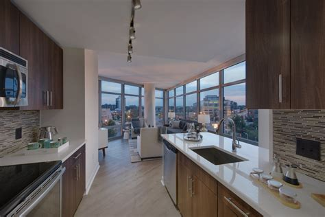 one bedroom apartment washington dc noma apartments luxury features elevation in washington dc