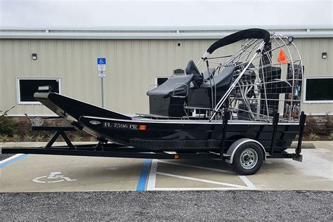 airboat used preowned 2013 alumitech airboat for sale