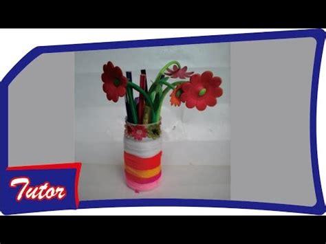 youtube membuat vas bunga kerajinan dari botol bekas vas bunga tutorial youtube