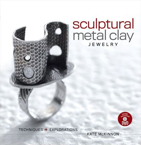 sculptural metal clay jewelry with dvd techniques