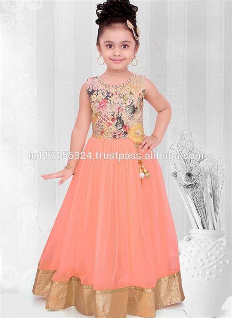 kids dress desing newly fashionable kids party wear branded frocks