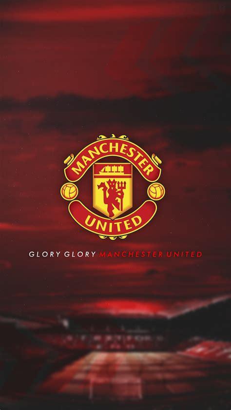 Manchester United Logo Iphone 55s Custom Wallpaper Mu 2018 68 Images