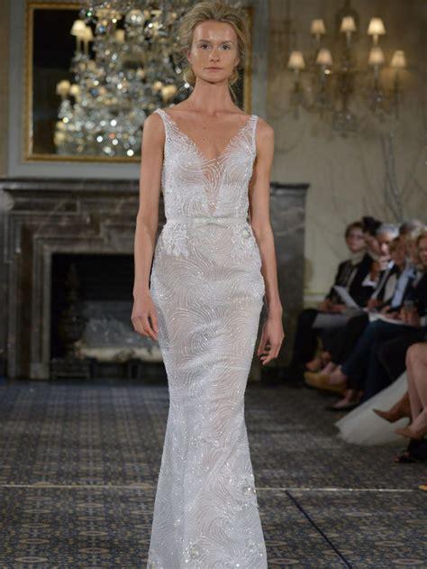 Mira Slit mira zwillinger s shimmering wedding dresses are inspired