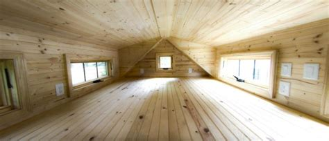 tiny house loft height tinier living house plans by tiny home builders tiny house plans
