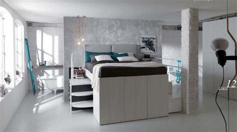 camere da letto soppalcate soppalco matrimoniale container
