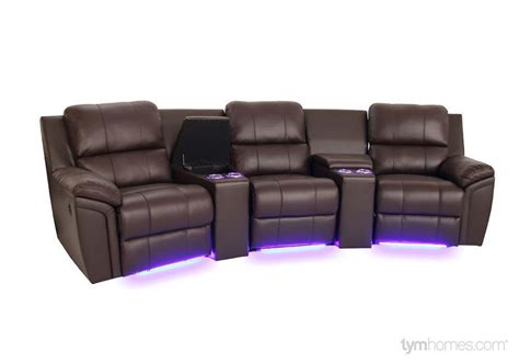 Home Theater Seating Sectionals Salt Lake City Tym Home Theatre Sectional Sofa