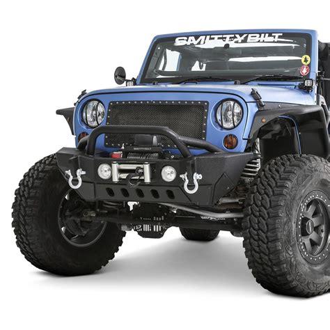 jeep bumper smittybilt 174 jeep wrangler 2013 xrc gen2 mid width black