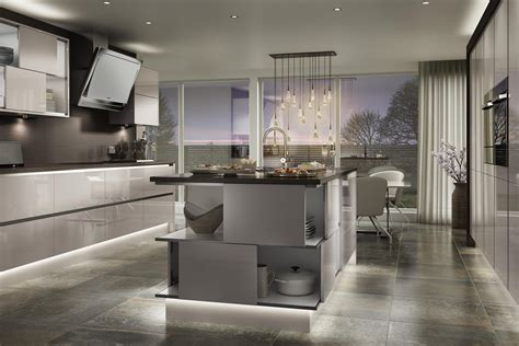 handleless fitted kitchens from swansea home improvments