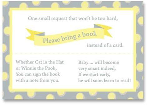 baby shower book poem instead of card 29 best images about baby shower book instead of card on