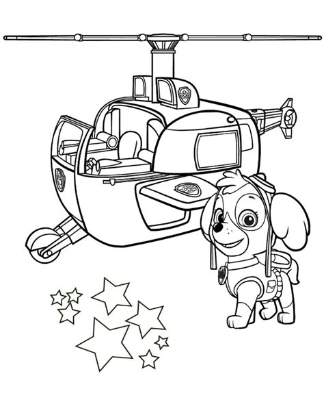 paw patrol spring coloring pages skye coloring sheet paw patrol