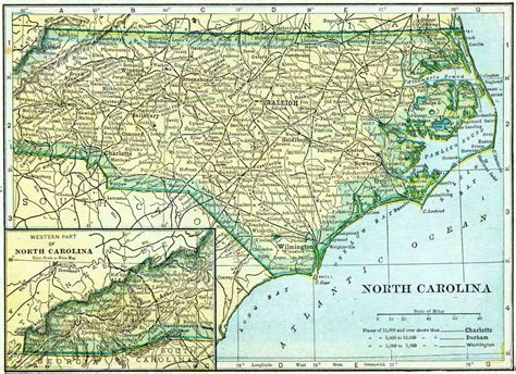 Free Records Nc 1910 Carolina Census Map Access Genealogy