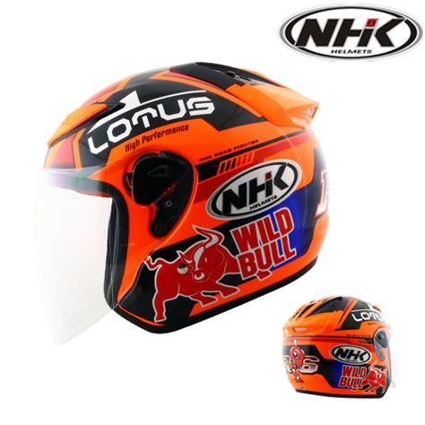 Helm Nhk R6 Orange nhk nhk r6 lotus se pabrikhelm jual helm murah