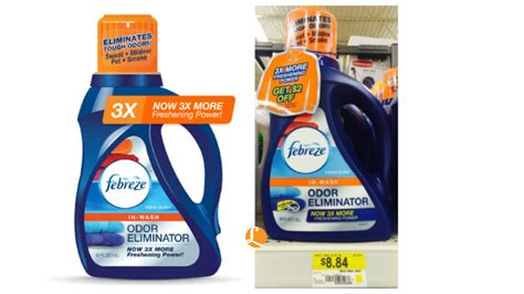 Febreze Laundry Odor Eliminator Printable Coupon