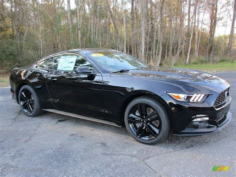 2016 shadow black ford mustang ecoboost coupe 110673458