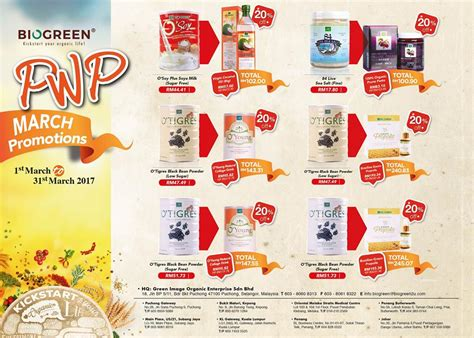 Stallex Skin Care March Promotion by Biogreen March Special Pwp Deals Cosmetic