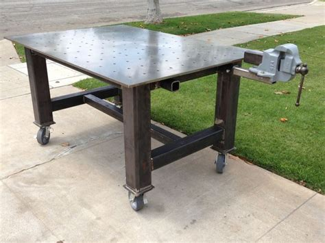 how to build a welding bench 61 best welding shop table images on pinterest welding