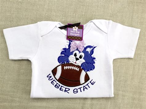 Weber State Mba Shirt by Cheer On Your Favorite Wildcat Football Team With This