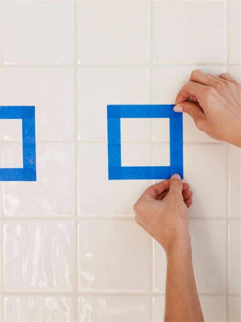 painting ceramic tile in bathroom how to paint ceramic tile diy painting bathroom tile