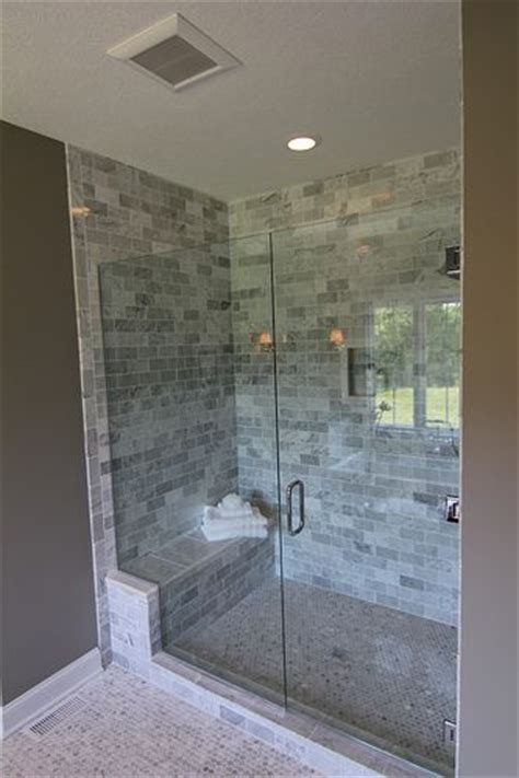 Showers With Seats And Glass Doors Bathroom Large Walk In Shower With A Bench Seat
