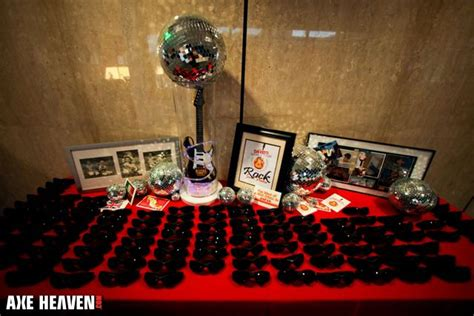 rock themed events 17 best images about guitar centerpieces on pinterest