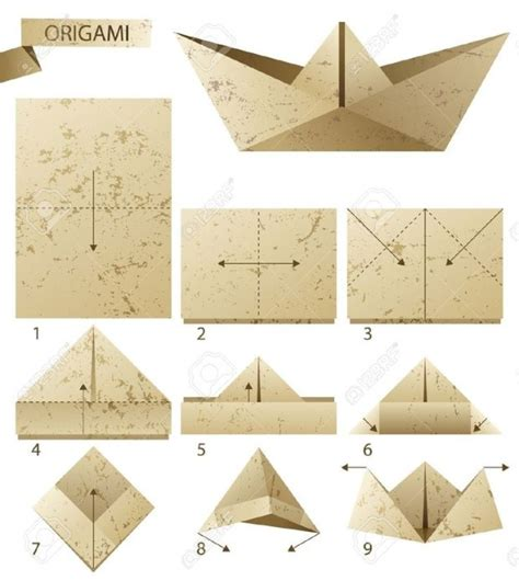 Paper Boat Steps - how to make a paper boat my daily magazine