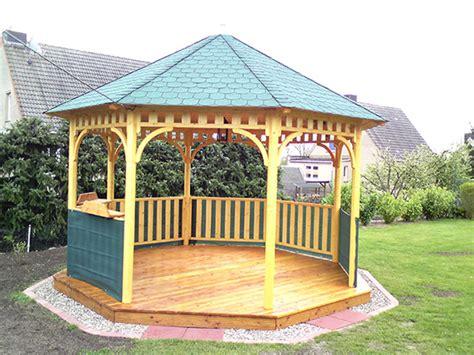 8 eck pavillon schliephake rustikale gartenm 246 bel und pavillons 8 eck