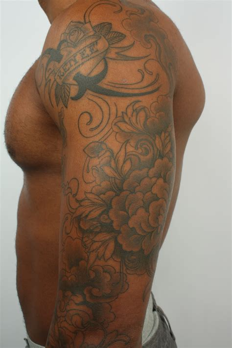 tattoo designs for black skin black and gray tattoos on skin