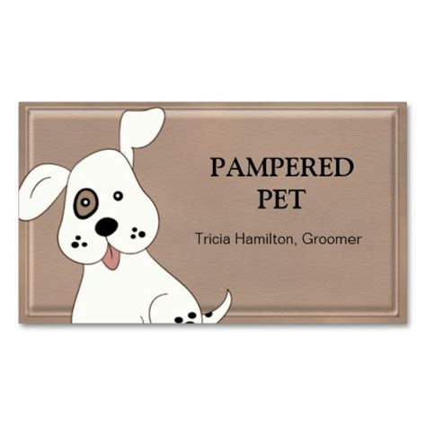 free pet card templates pet groomer vet business card business cards pet care