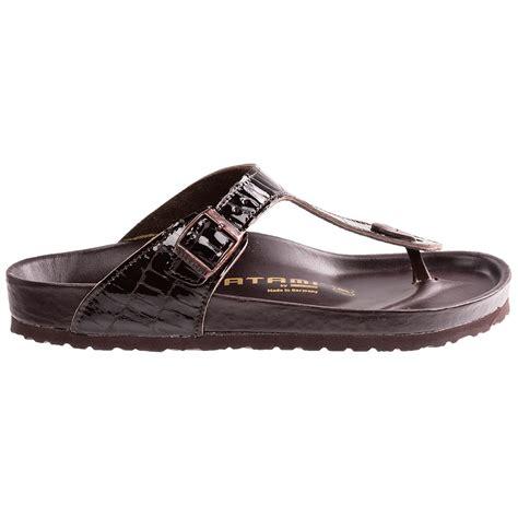 birkenstock sandals for tatami by birkenstock gizeh croco sandals for
