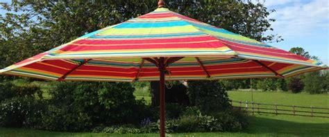 striped parasols large garden patio umbrellas the