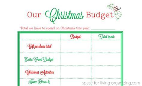 christmas budget planner printable christmas budget planning printable