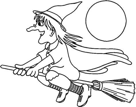 imagenes de halloween dibujos brujas para colorear pintar e imprimir