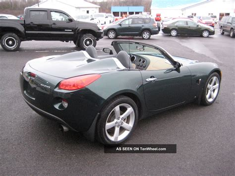 2006 Pontiac Solstice by 2006 Pontiac Solstice Base Convertible 2 Door 2 4l