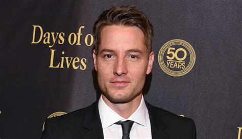 young and the restless star justin hartley to adam newman young and restless cast news justin hartley scores new