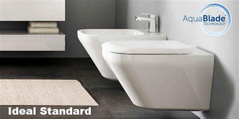 sanitari bagno sospesi ideal standard bagni moderni