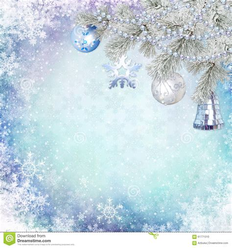 blue flower tree family symbolize happy home decor wall christmas congratulatory background with pine branches